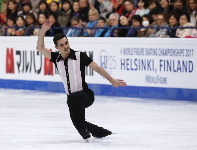 Javier Fernández cede el trono ante Hanyu en Helsinki