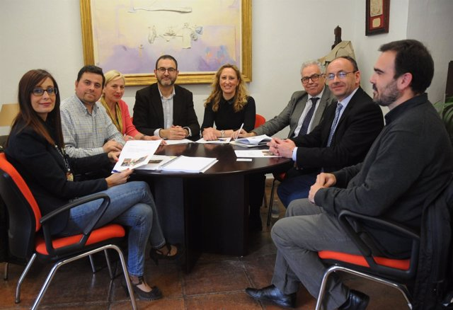 Encuentro de Diputación de Córdoba y Asociación de Personas Sordas