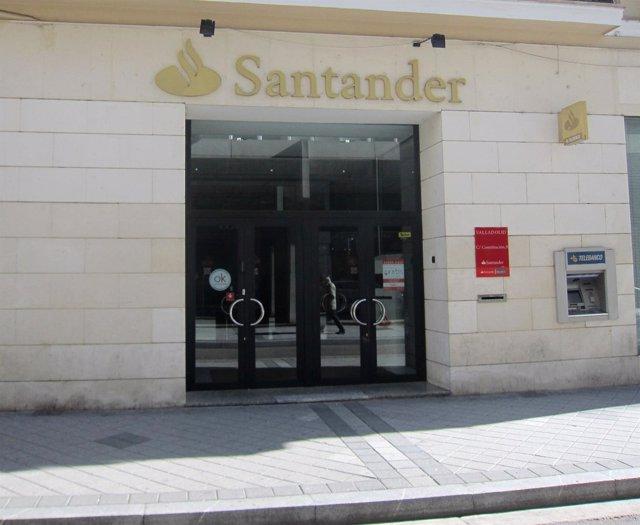 Oficinas del Banco Santander.