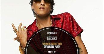 Indignación entre los fans de Bruno Mars por un supuesto concierto...