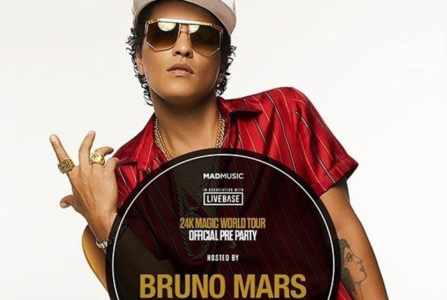 Bruno Mars Pre Party