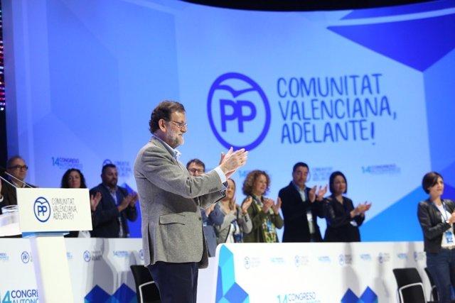 El presidente cierra el XIV Congreso del PPCV