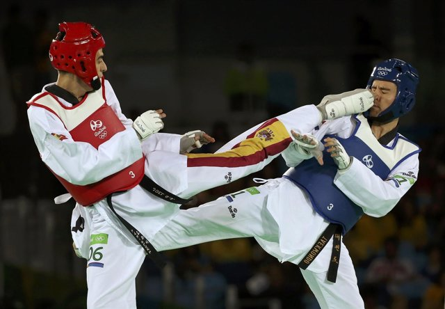 Joel González en los Juegos de Río