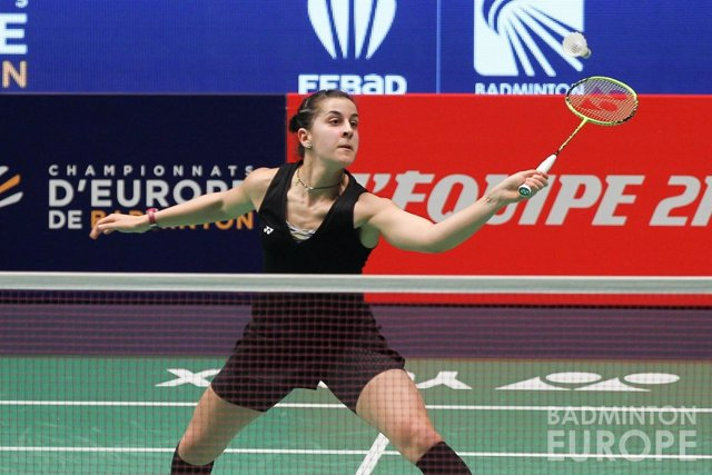Carolina Marín asegura medalla en el Europeo