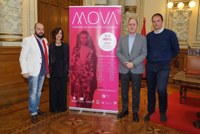 Presentación de la Semana de la Moda de Valladolid