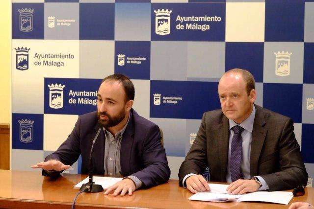 Mario Cortés en rueda de prensa
