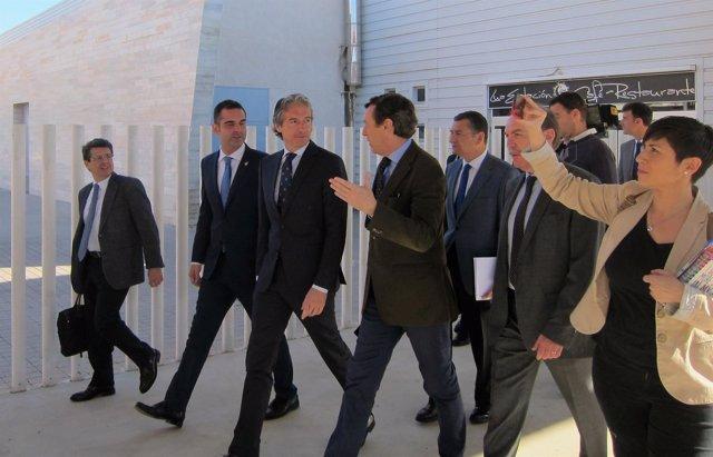 De la Serna visita la Estación de Almería