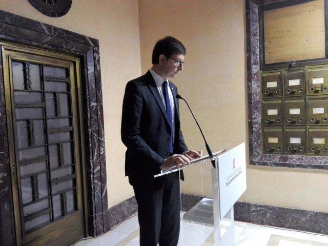 El conseller de Justicia, Carles Mundó