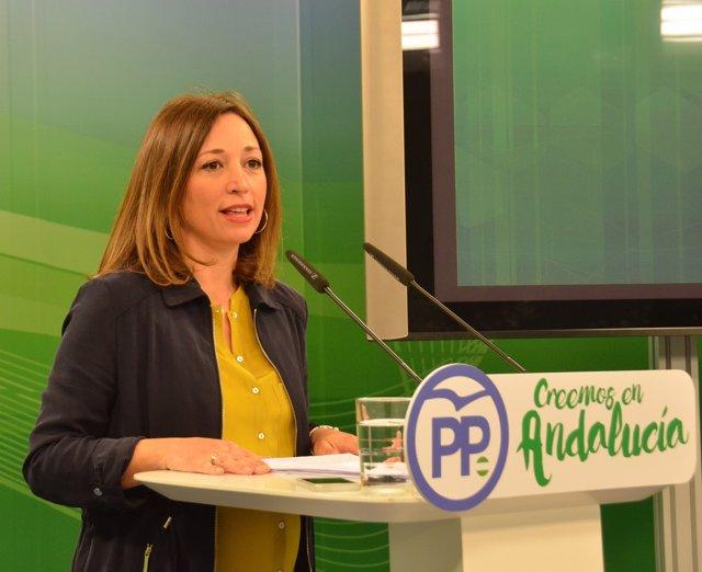Patricia Navarro, hoy ante los medios