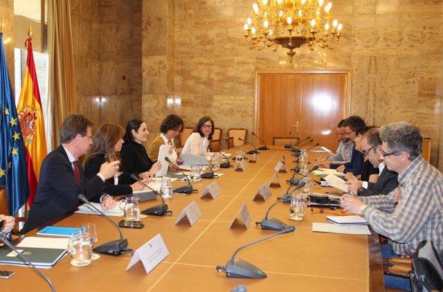 Reunión del MAPAMA con las 5 ONG
