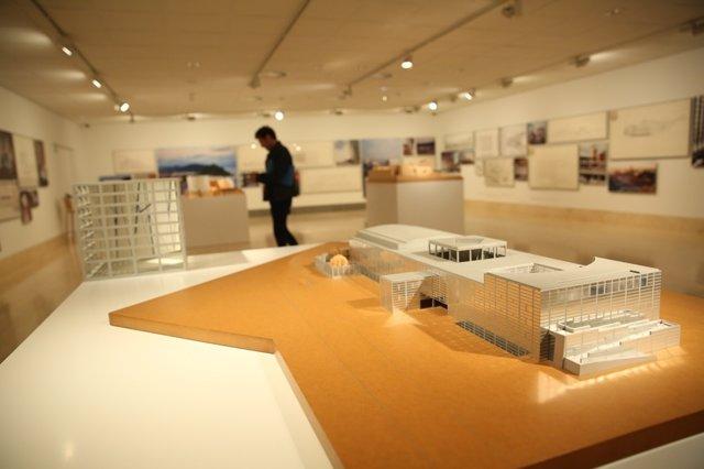 Presentación de la exposición Rafael Moneo