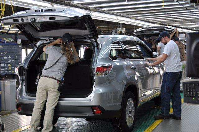 Planta de Toyota en Indiana (EEUU)