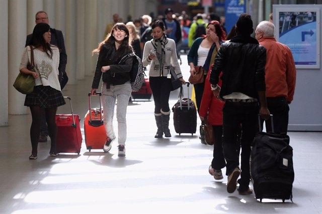 Turistas extranjeros