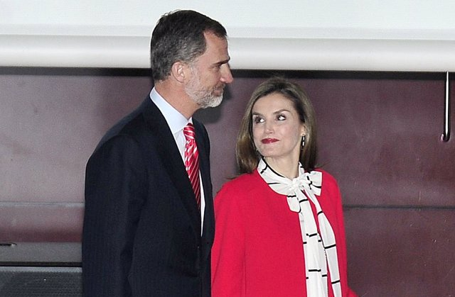 El Rey Felipe VI y la Reina Letizia/ Javier Gálvez