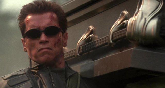 Arnold Schwarzenegger en Terminator 3