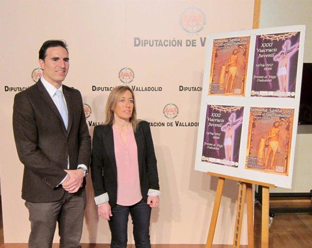 Valladolid. Presentación del Viacrucis Juvenil de Fresno el Viejo