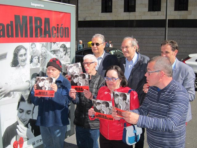Valladolid. Presentación de la  nueva campaña de Asprona