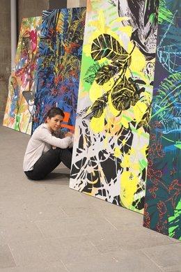La artista y diseñadora canaria Ana Beltrá