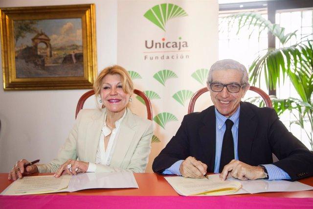 Acuerdo Fundación Unicaja y Museo Thyssen. Medel y Carmen Thyssen
