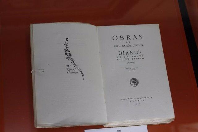 Primera edición del 'Diario de un poeta recién casado'.