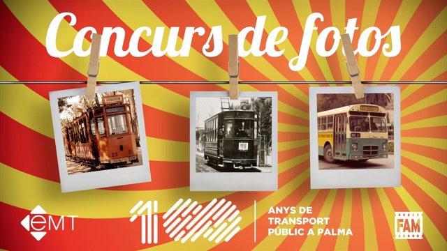 Concurso de fotografías históricas de la EMT de Palma