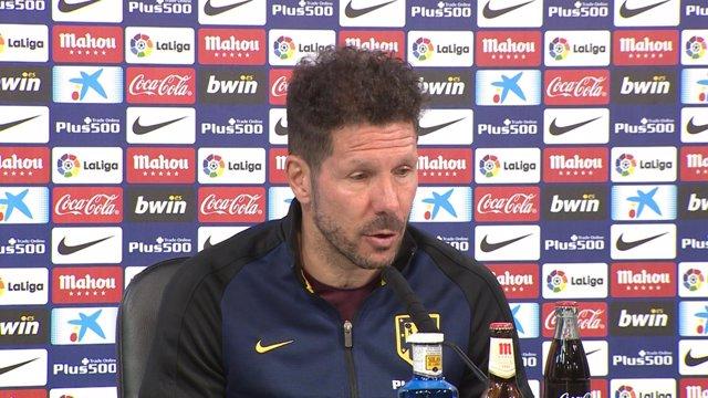"""Simeone: """"Nos encontramos siempre con situaciones complejas"""""""
