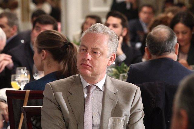 El embajador de Reino Unido en España, Simon Manley