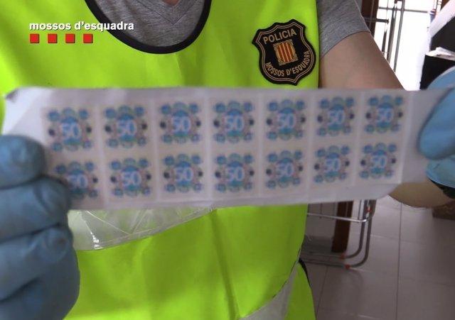 Elementos de los billetes de 50 euros de curso legal para falsificarlos
