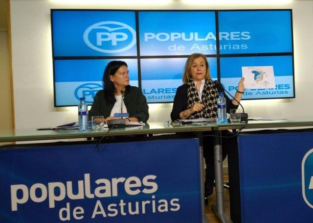 Susana López Ares y Mercedes Fernández analizan los PGE.