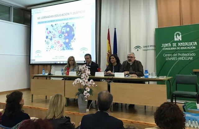 Inauguración de las VII Jornadas de Educación y Justicia.