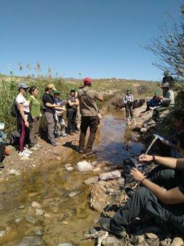 Voluntarios ambientales en 'Andarrios'
