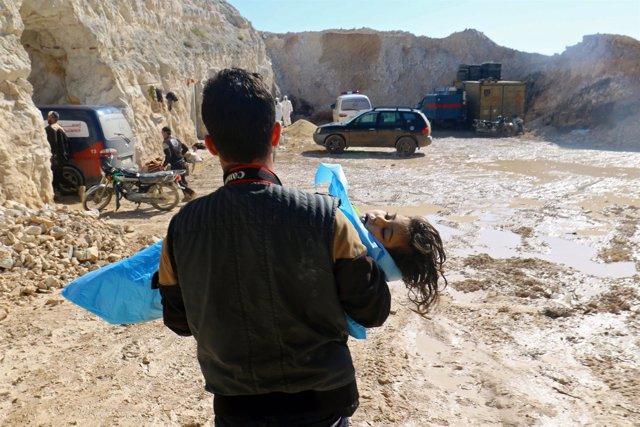 Ataque químico en Jan Sheijun, Idlib