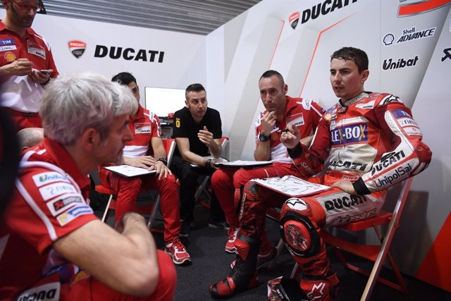 Jorge Lorenzo (Ducati)
