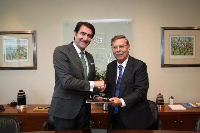 Suárez-Quiñones junto a José Folgado