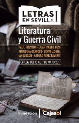 Ciclo 'Letras en Sevilla' de Fundación Cajasol