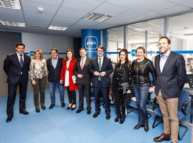 Valladolid.- Comité de Dirección del partido.