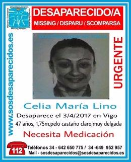 Celia Lino, desaparecida