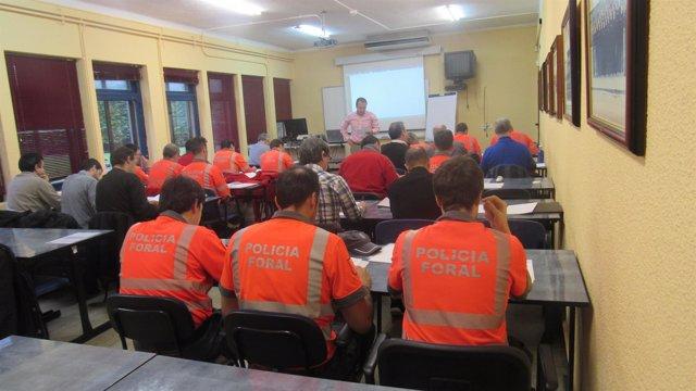 Una de las sesiones de formación