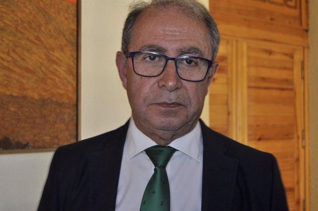 El consejero de Hacienda y Administracion Pública de Aragón, Fernando Gimeno.