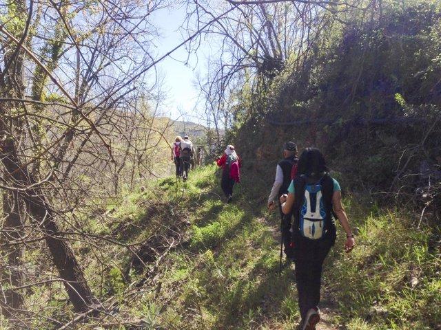 La segunda etapa del Sendero Gr-140 ha recorrido la Alpujarra Almeriense.