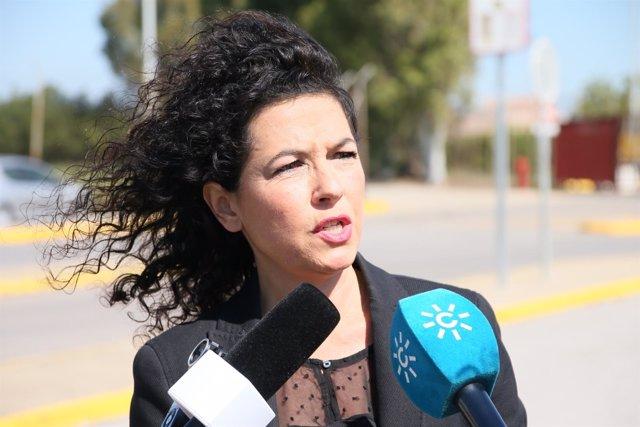 La senadora andaluza de Podemos Maribel Mora
