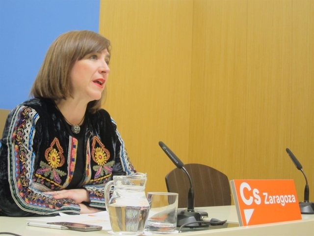 La portavoz de Cs en el Ayuntamiento, Sara Fernández