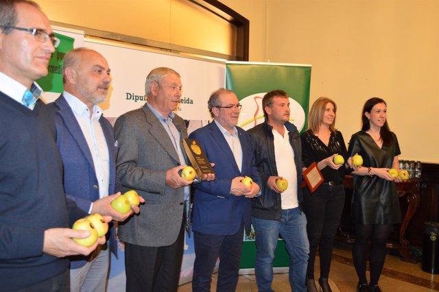 Entrega del 'Premio internacional a la mejor manzana Golden'