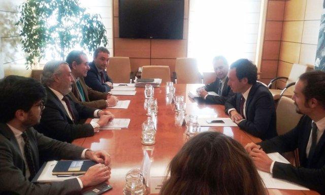 Marc Pons reunión en Fomento