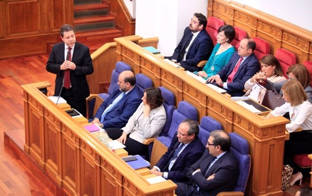 Page en el Pleno