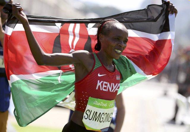 Jemima Sumgong maratón femenino Juegos Olímpicos Río