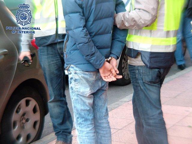 Detenido acusado del atraco a tres taxistas en Almería