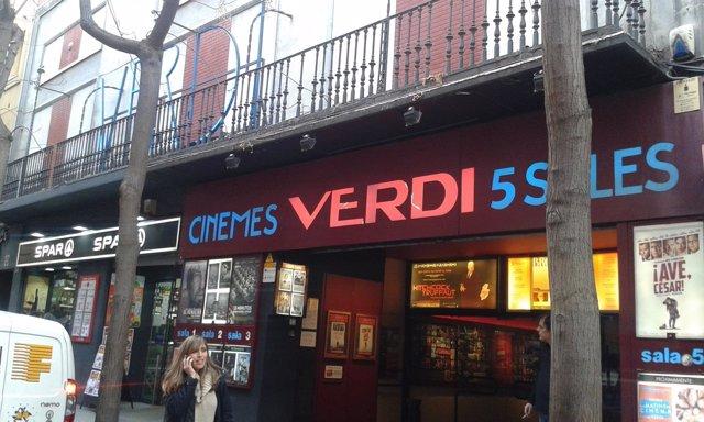 Los cines Verdi de Barcelona