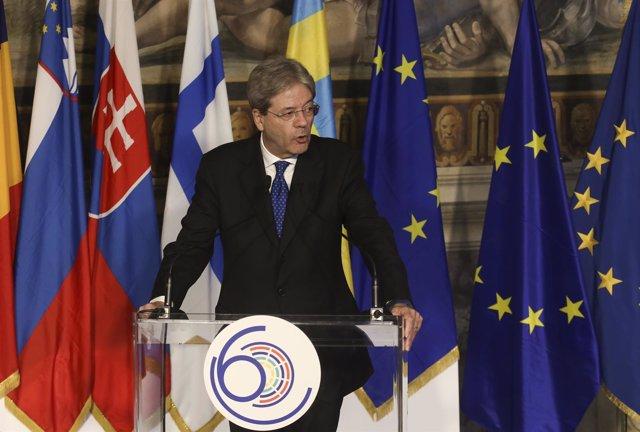 Primer ministro de Italia, Paolo Gentiloni