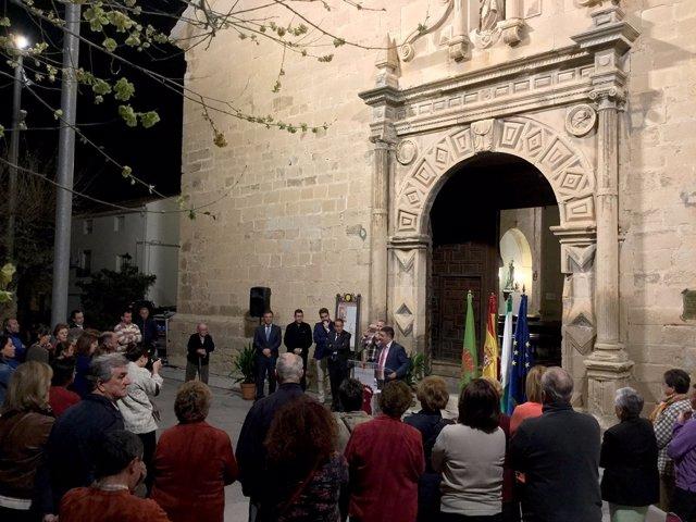 Nueva iluminación de la Iglesia de la Asunción